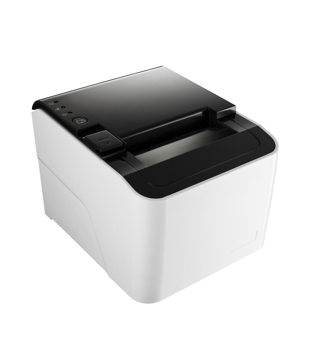 "PRP-250 High Speed Black & White 80mm 3"" POS Thermal Receipt Printer with Cutter USB Serial LAN Interface"